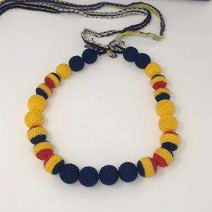 Prada Jewelry - PRADA Ball Macrome Necklace